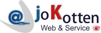 Webdesign joKotten Web & Service